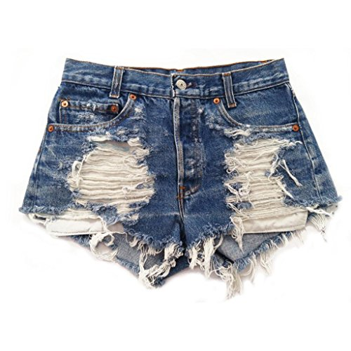 Women's Vintage Levi's Distressed Stone Dreamer High Waisted Cut ...