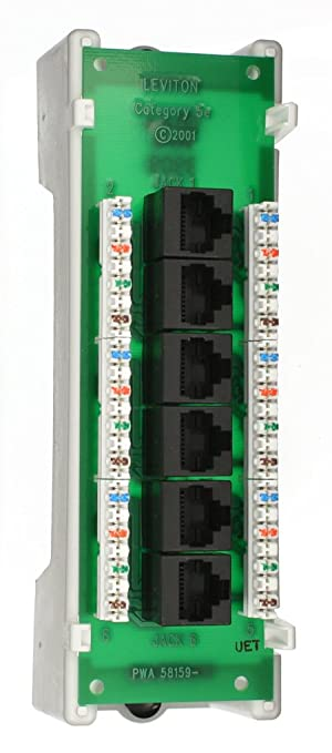 517Qe0dYxUL._SY679_ amazon com leviton 47605 c5b category 5 voice and data module 6 leviton 47605-c5b wiring diagram at readyjetset.co
