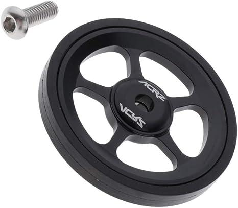 MagiDeal Roues pour V/élo Pliant Easy Wheels Modifi/é pour Brompton