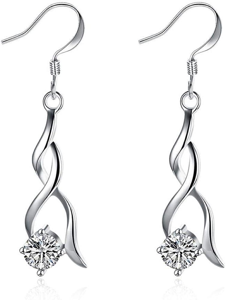 Pendientes de plata con diamantes para mujer Pendientes de peridoto de piedras preciosas Borla Granate Pendiente de granate Joyas