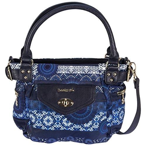 Desigual Bols McBEE Mini Barbados across Body Bag bolso Azul