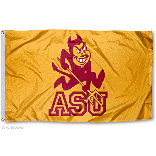 ASU Arizona State Sun Devils University Large College Flag
