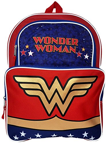 Wonder Woman Backpack 16""