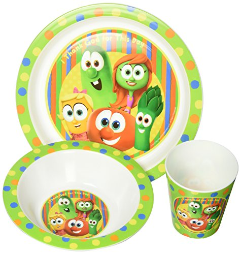 Enesco Veggie Tales Meal Set (3-Piece)