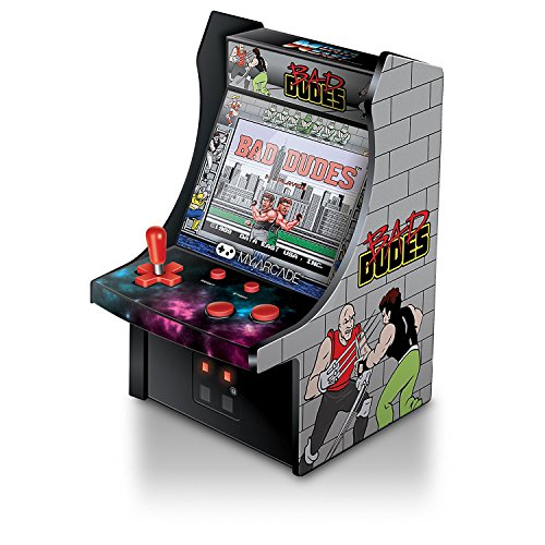 """Fighting Duo - My Arcade Bad Dudes Micro Player 6"""" Collectable Arcade"""