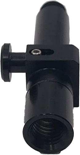 Quick Disconnect Adapter for GPS, with Leica Style Quick Release Adapter for Prism Poles GPS Poles