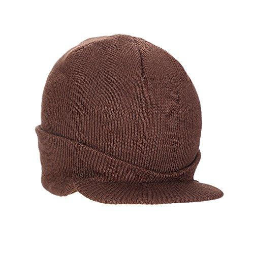 Oyfel Sombrero de Punto Bufanda de Invierno de Nieve Gorros Caliente Caza Calido Orejas Christmas Navidad 22X22cm