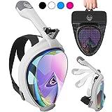 Aleoron - Foldable Full Face Snorkel Mask for