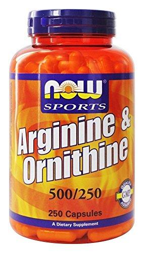 NOW Foods Arginine Orthinine Capsules