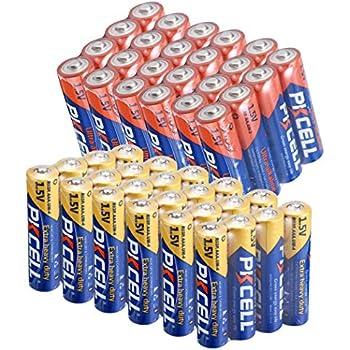 Amazon.com: AAA Battery 1.5V R03P UM4 Heavy Duty Battery