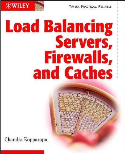 Load Balancing Servers, Firewalls, and Caches (Network Load Balancer)