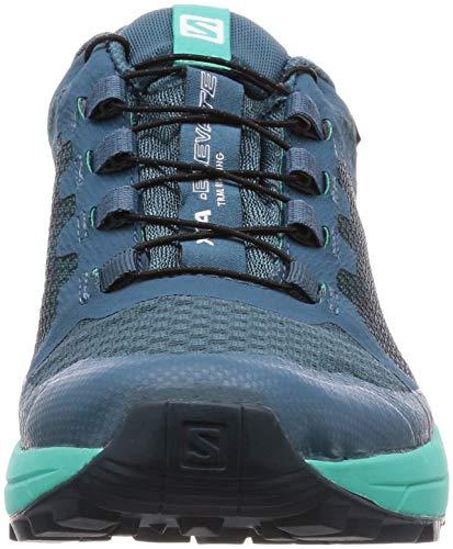 Salomon De Xa Femme Pour Elevate Sentier Chaussures Fluo tex Course Ah18 Sur Bleues Gore Jaune wqd4xTI