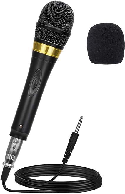 TONOR Professional XLR Singing Karaoke Vocal Dynamic Microphone with 16.5 Feet Cord