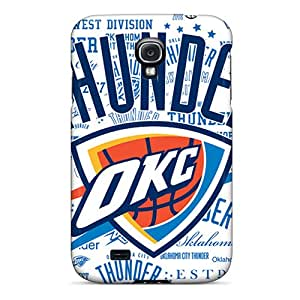 ChristopherWalsh Samsung Galaxy S4 Protector Hard Phone Case Allow Personal Design High-definition Oklahoma City Thunder Skin [EEs18562ivjo]