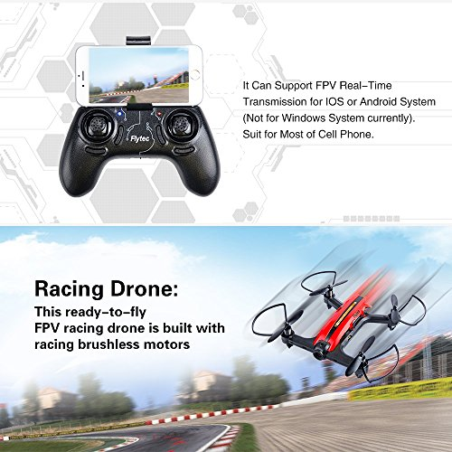 Flytec T18 Wifi FPV Drone with 720P Wide-Angle HD Camera Live Video