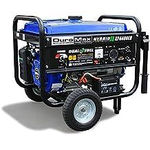 DuroMax XP4400EH, 3500 Running Watts/4400 Starting Watts, Dual Fuel Powered Portable Generator - Refurbished