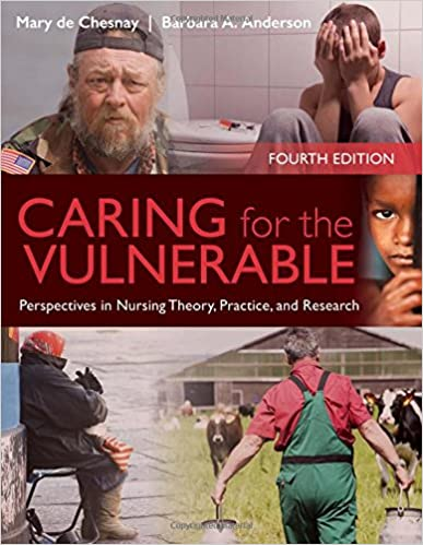 Caring For The Vulnerable: Perspectives in Nursing Theory, Practice and Research Mary de Chesnay and Barbara A. Anderson