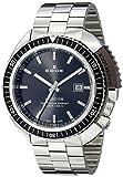 Edox Men's 53200 3NGM GIN Hydro Sub Analog Display Swiss Quartz Silver Watch