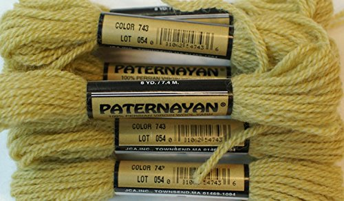 Paternayan Needlepoint 3 Ply Wool Yarn Color 743 Tobacco Medium