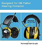PROHEAR GEP01 Gel Ear Pads (Upgraded) for 3M PELTOR
