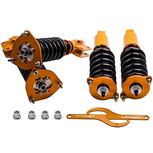 For Subaru Legacy GT Sedan 4-Door 1998-2004 Coilover Shocks Struts Adjustable Height