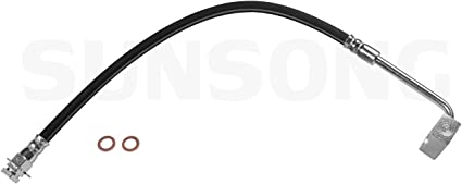 Brake Hydraulic Hose-4WD Front Left Sunsong North America 2204778