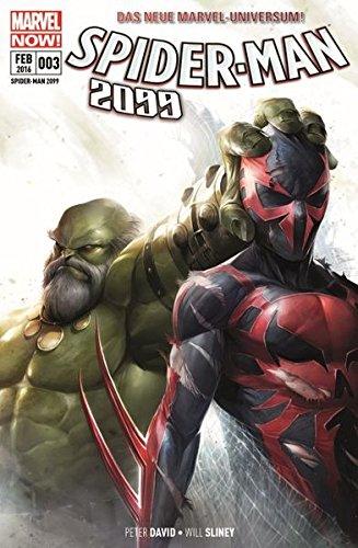 Spider-Man 2099: Bd. 3: Maestro! Taschenbuch – 26. Januar 2016 Peter Allen David Will Sliney Panini 3957986192