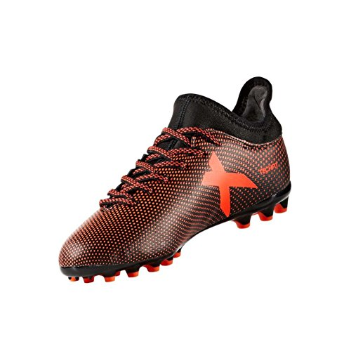 adidas Jungen X 17.3 AG J Fußballschuhe Schwarz (Negbas/Rojsol/Narsol)