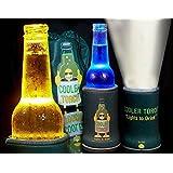 Cooler Torch Lighted Bottle Koozie. Make your drink Glow! The LED Flashlight Beverage Bottle Light. Choose your color & Quantity (1 Purple)