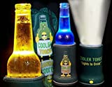 Cooler Torch Lighted Bottle Koozie. Make your drink Glow! The LED Flashlight Beverage Bottle Light. Choose your color & Quantity (1 Black)