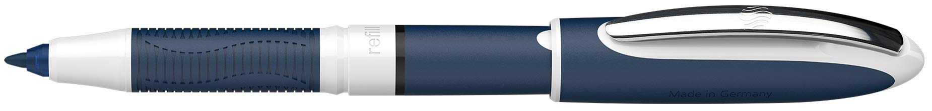 Schneider One Change 78371 Refillable Rollerball Pen Blue with 2 Cartridges Plus 1 Cartridge Free Black by Schneider (Image #5)