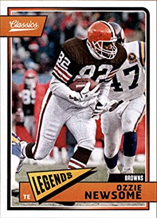 new products 41022 cbc1a Amazon.com: 2018 Classics Football #117 Ozzie Newsome ...