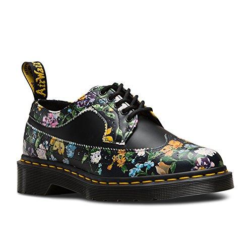 Dr Chaussures Floral Ville Martens Shoe 22729001 Black De Darcy Wingtip xPqPrwf1B0