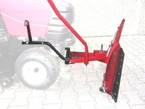 Quitanieves (118 x 50 cm Apto para tractores cortacésped Husqvarna ...