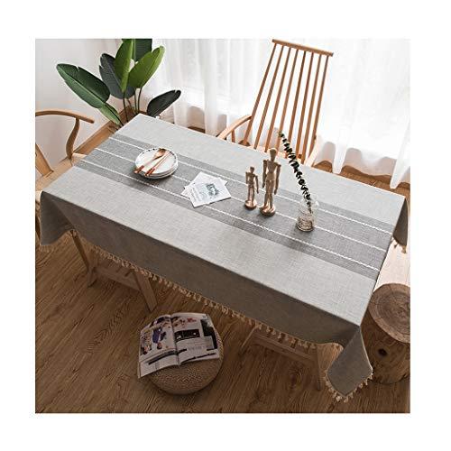 B 120180cm &Nappes Nappe rectangulaire Nordic Petit Frais Pastorale Imperméable Table Basse Ménagère à Manger Nappes Table Livre Table Cloth nappe de table (Couleur   B, taille   120  180cm)