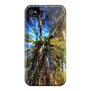 New Arrival Cover Case With Nice Design For Iphone 4/4s- Beam Of Light