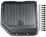 350 aluminum heads - Chevy Black Finned Aluminum Turbo 350 Transmission Pan CBC TH-350 TH350 Trans