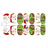 1-Set Pleasantness Popular New Nails Art Sticker Full Design 3D Sticks Multi-Color Style 04