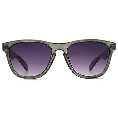 54b810866cc6 M:UK Shoreditch Keyhole Bridge Sunglasses in Crystal Grey MUK147839: Amazon. co.uk: Clothing