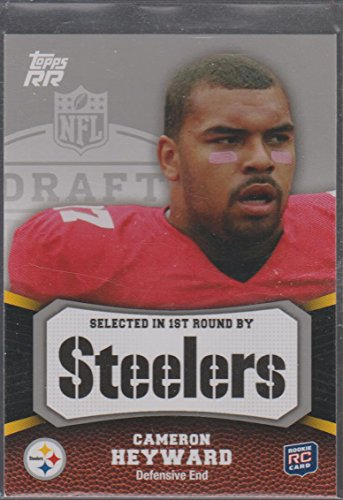 2011 Topps RR Cameron Heyward Steelers Rookie Football Card #158