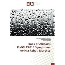 Book of Abstacts ISyDMA'2016 Symposium Kenitra-Rabat, Morocco