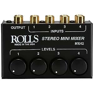 Rolls MX42 Stereo Mini Mixer
