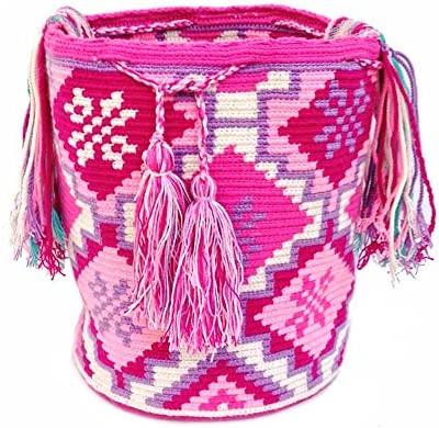 : Love & Lucky Wayuu Mochila Bag Large