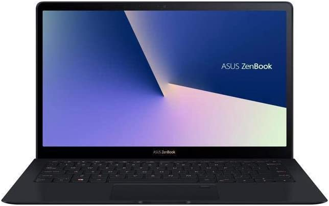 ASUS ZenBook S Ultra-Thin & Light Laptop 13.3 inches UHD 4K Touch 8th Gen Intel Core i7-8565U 16GB RAM 512GB PCIe SSD, FP Sensor, Thunderbolt, Windows 10 Pro - UX391FA-XH74T (Renewed)