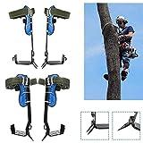 sportuli Tree Pole Climbing Spike Set,1 Gears 304