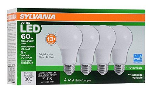 Sylvania Home Lighting 78038 A19 Sylvania Ultra 60W ...