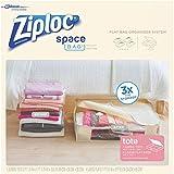 ziploc space saver vacuum bags - Ziploc Space Bag 1 Tote Shell