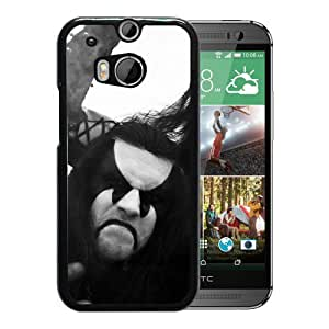 Beautiful Designed Cover Case With Immortal Band Image Scream Faces For HTC ONE M8 Phone Case
