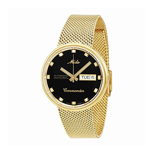 Mido Commander I Automatic Yellow Gold PVD 37 mm Unisex Watch M842932813