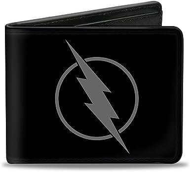OFFICIAL DC COMICS THE FLASH NEW ZOOM LOGO// SYMBOL BLACK PRINTED LANYARD
